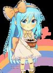 Lunachi: Halloween cake! #CM