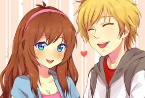 ||+ Aden and Yuna +|| #CM by hyuugalanna