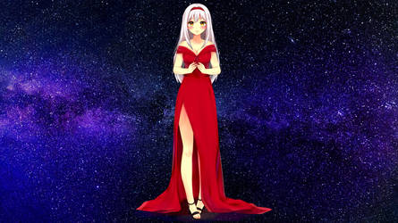 ||+ RED_DRESS +|| #CM by hyuugalanna