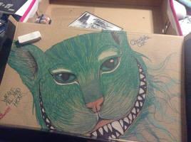 Cheshire Cat by CrystalGuitars1214