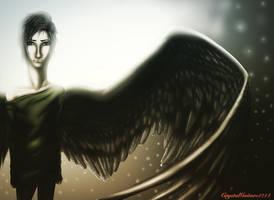 Fallen Angel by CrystalGuitars1214