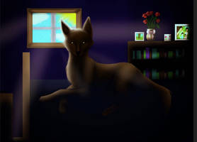 There's a wolf in my parents room! by CrystalGuitars1214