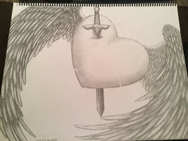 Winged Heart by CrystalGuitars1214