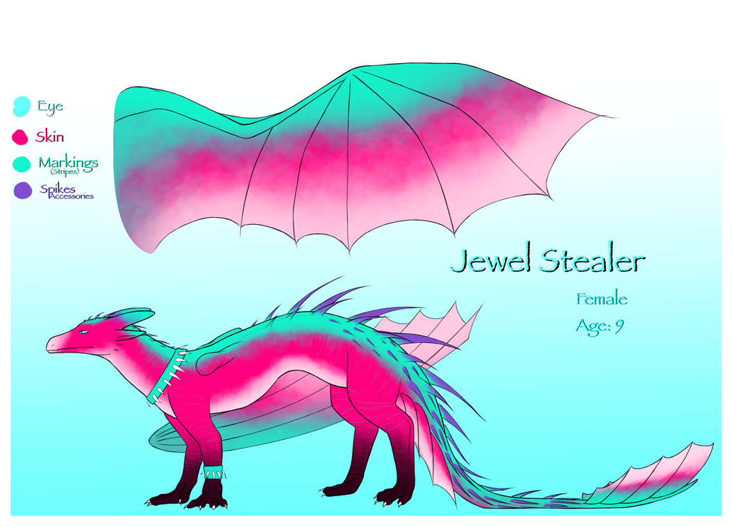Jewel Stealer Jewel Spinner Ref by demonguitars1214