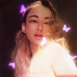 Butterfly by myjerart