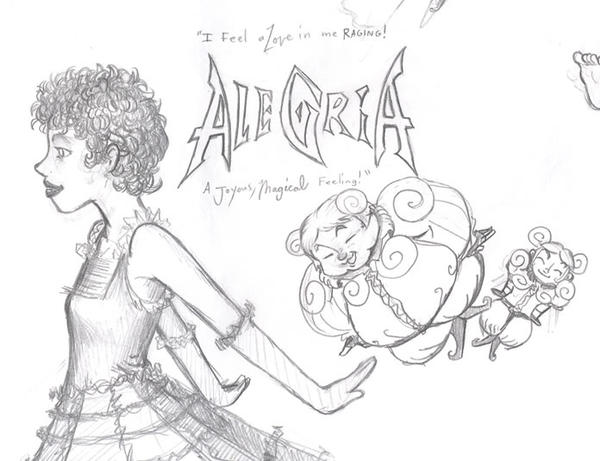 Alegria (Sketch Version) by ryokenohkie