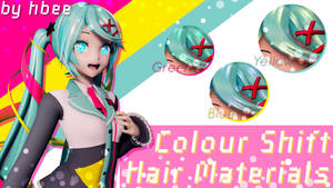 Colour Shift RayCast Hair Materials [DL]