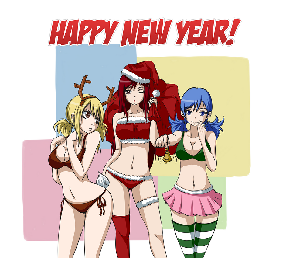 Happy New Year! by Akki-desu