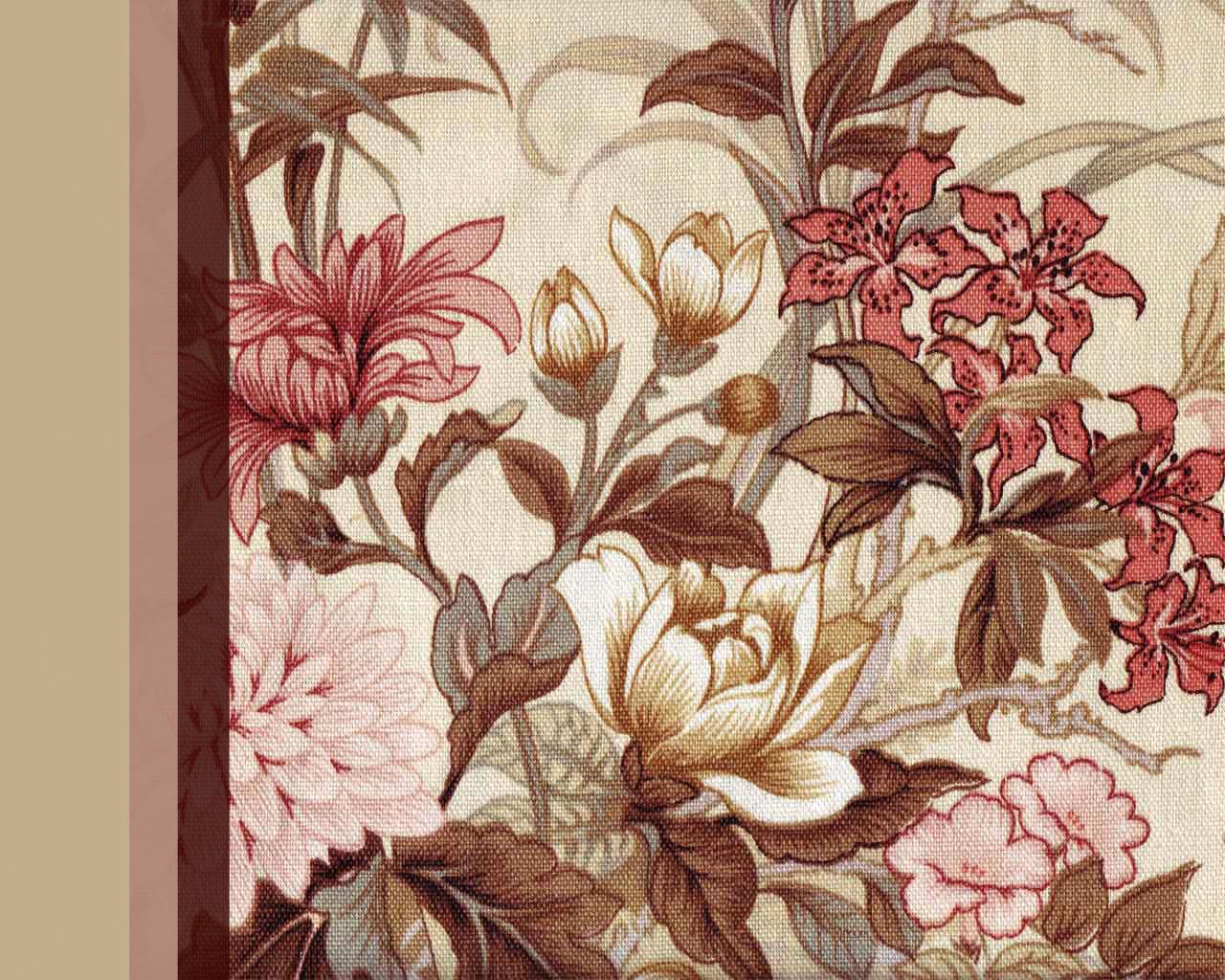 Old Fabric Wallpaper by chinofeliz