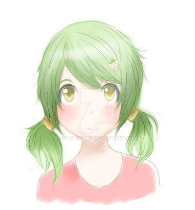 Cute Straw Berry Girl by Kawaii3Chu