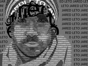 Text art Jared Leto