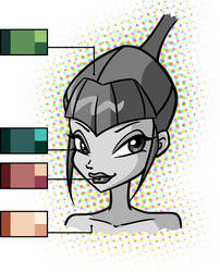 Syntry Colour Palette by PrettieAngel