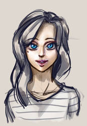 What creepy eyes you have... by PrettieAngel