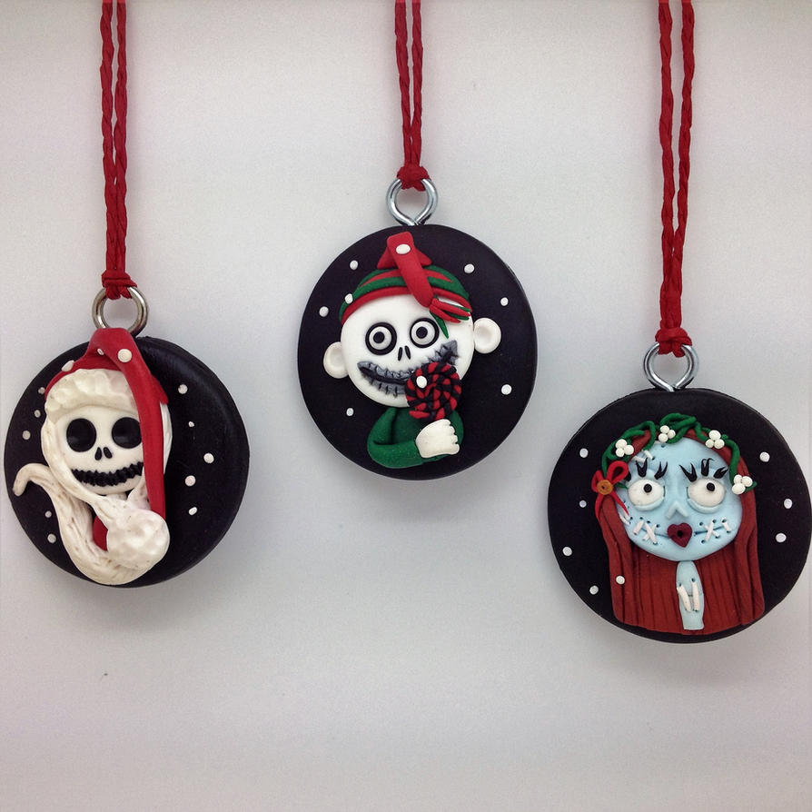 Nightmare Before Christmas Tree Decorations by Jomanka on DeviantArt