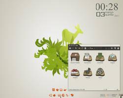 old simplebuntu screenshot by wgacton