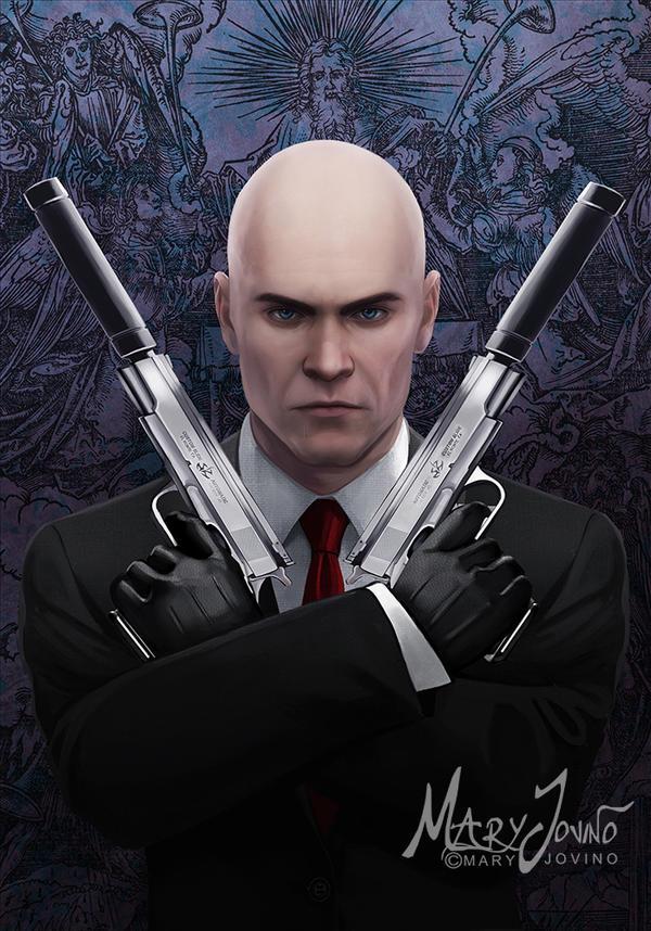 Agent 47 by MaryJovino