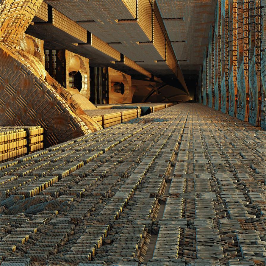 Underground interiors by Vidom