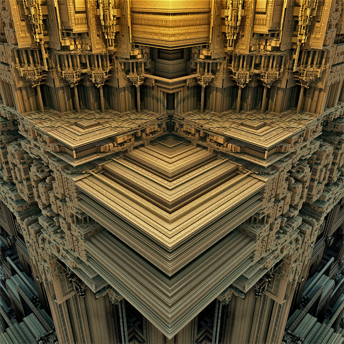 Temple of Eight Pillars by Vidom