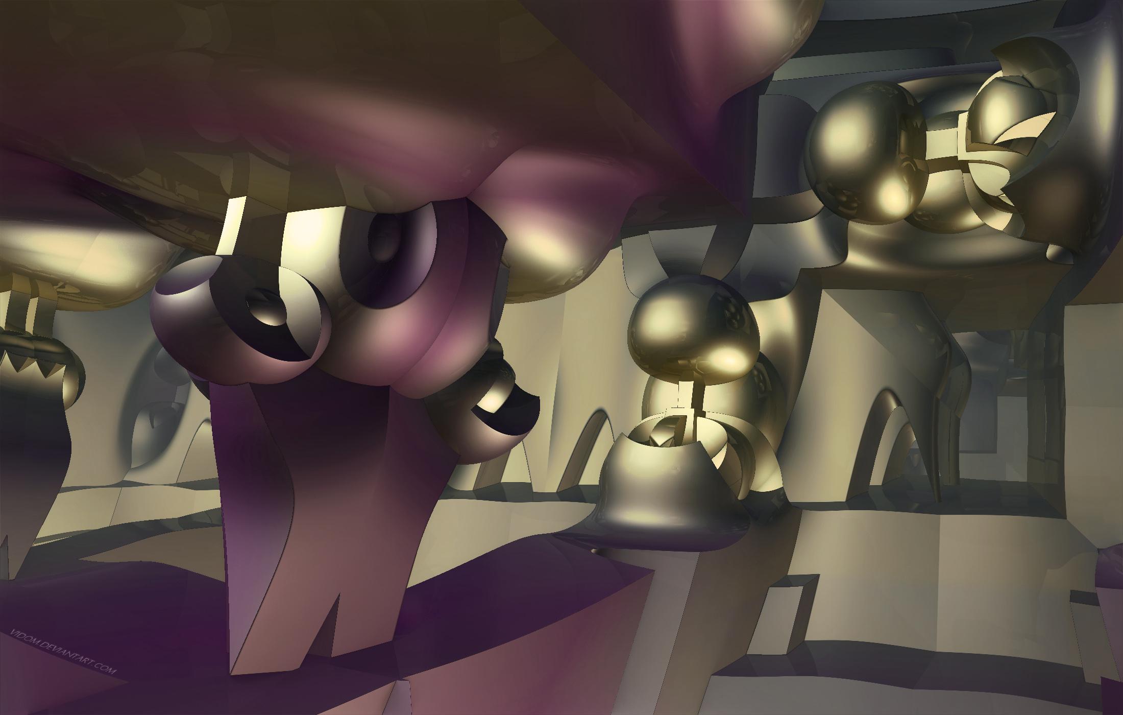 Alien playground by Vidom