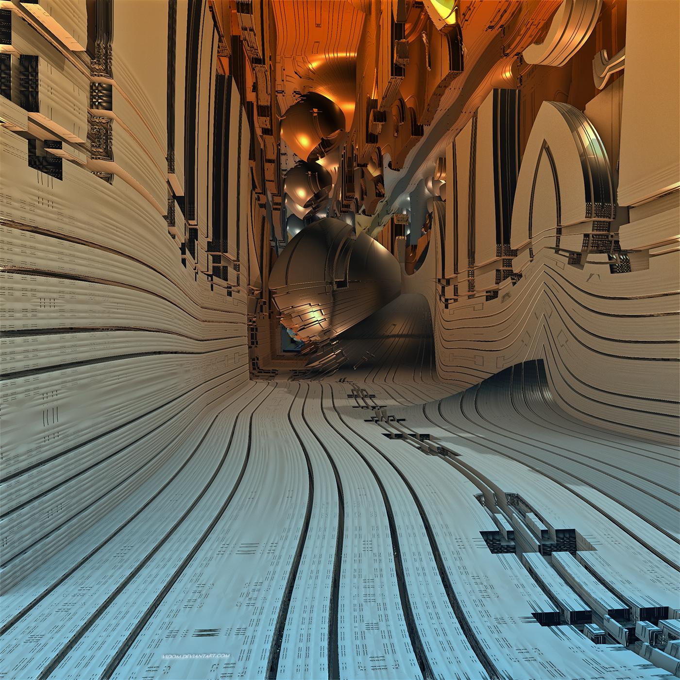 Organia passage by Vidom