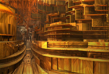 A Wooden Path to Sainthood