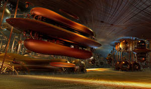 The Hot Dog Cafe on Maxima Prime by Vidom