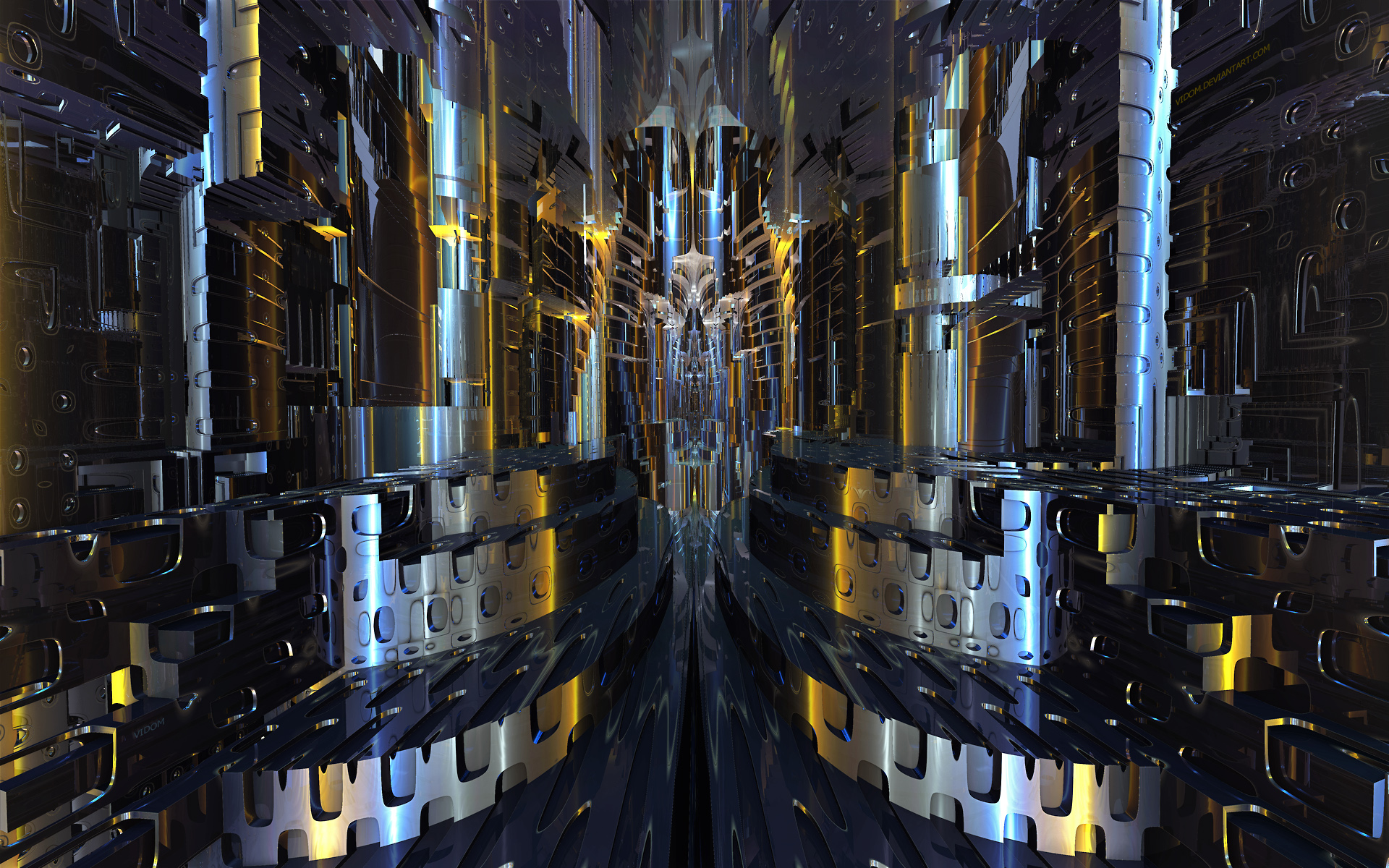 Alien ecclesiolatry by Vidom