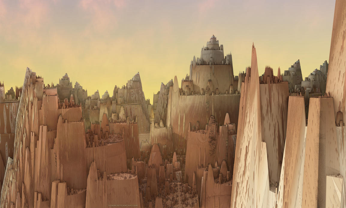 Not far from Tatooine by Vidom