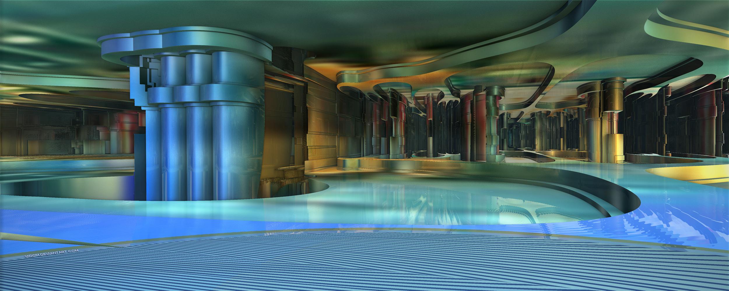 Water storage area by Vidom