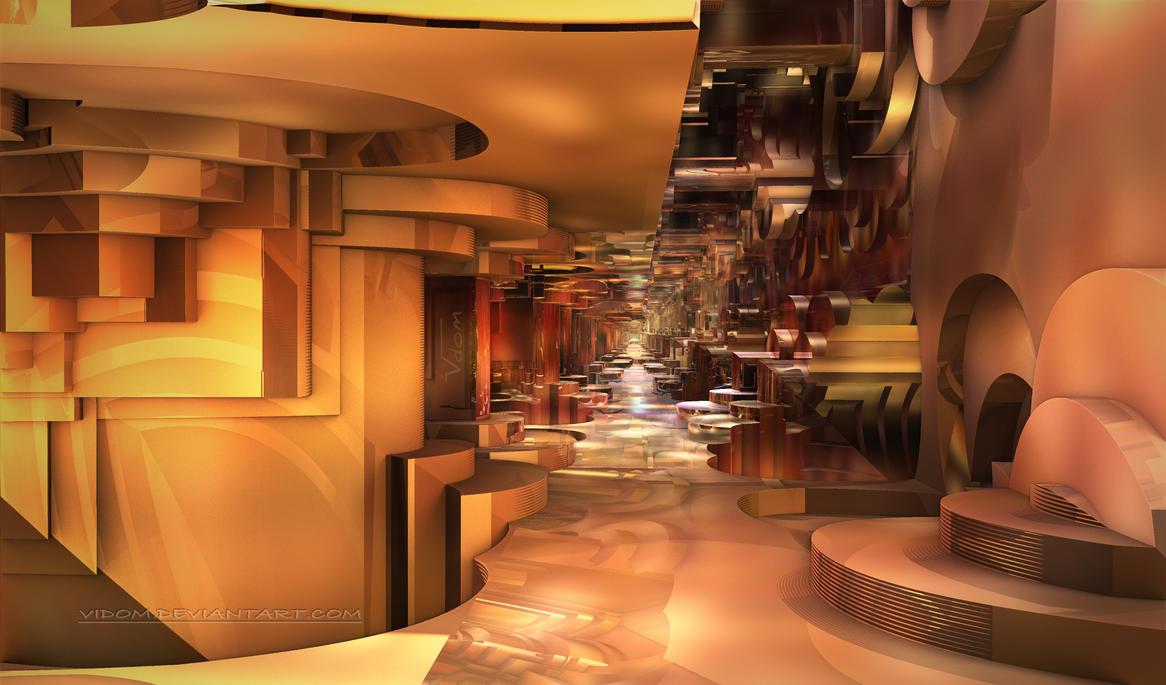 Service corridor A by Vidom