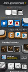 Retina app icons creator full by frameartdesign