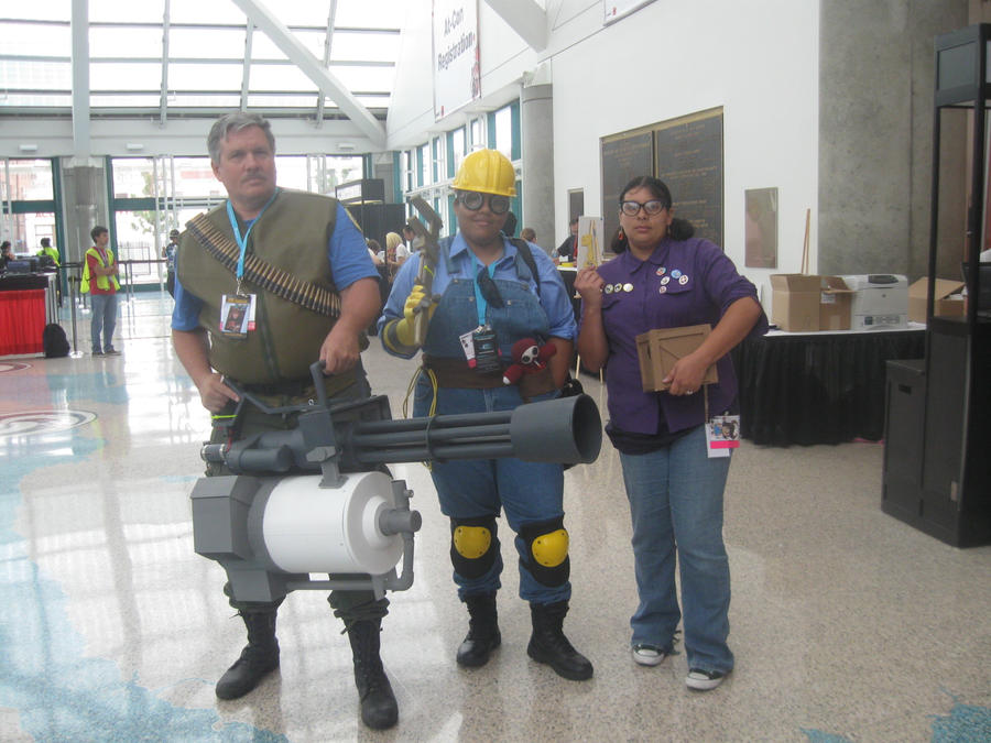 Team Fortress 2 cosplay by FullmetalDevil
