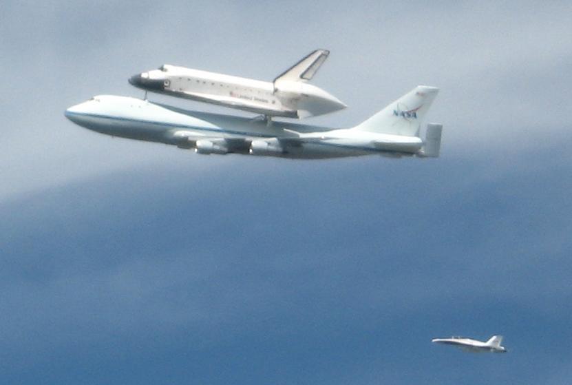 space shuttle over doak - photo #10