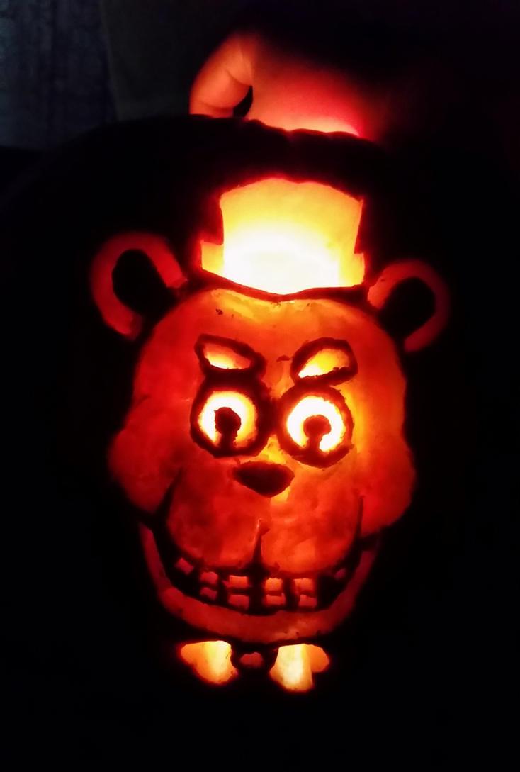 Freddy pumpkin by FullmetalDevil