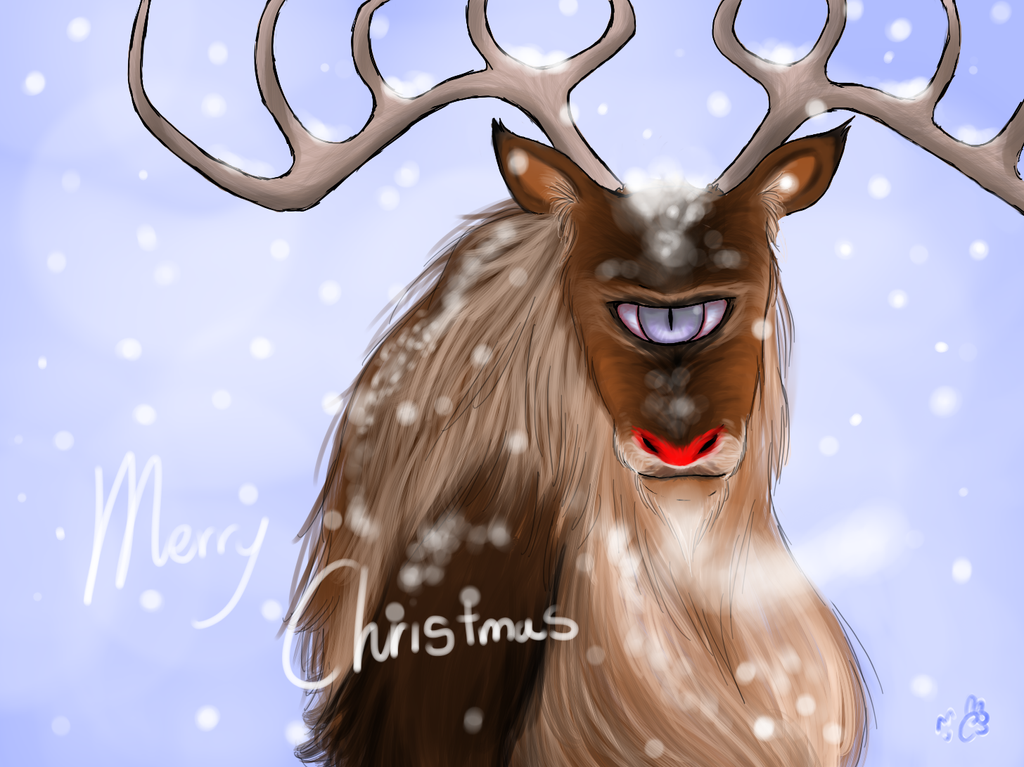 Deerclops Reindeer color by FullmetalDevil