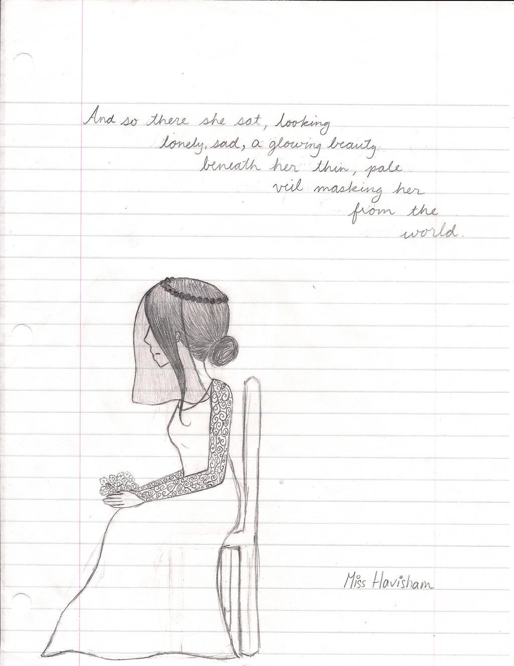 Miss Havisham~ by KriketRox on DeviantArt