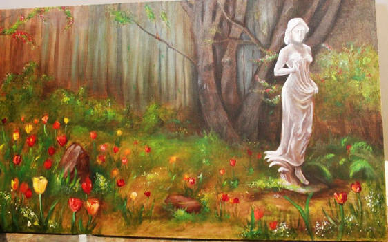Oil Painting for Ma Mommy