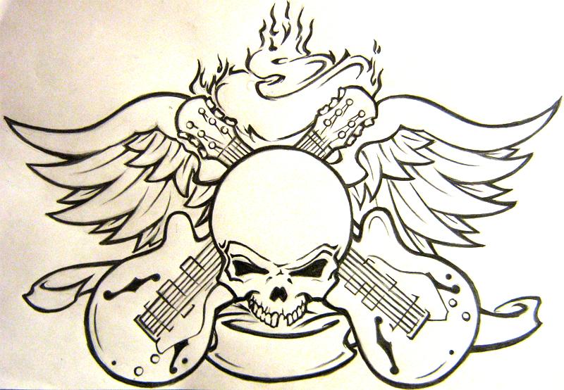 Rock N Roll Tattoo Ideas: Rock'n'Roll By Faulfraktion On DeviantArt