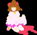 Card Captor Sakura - Sakura Kinomoto minimalism