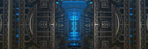 Borg Steempunk3~3840x1080~