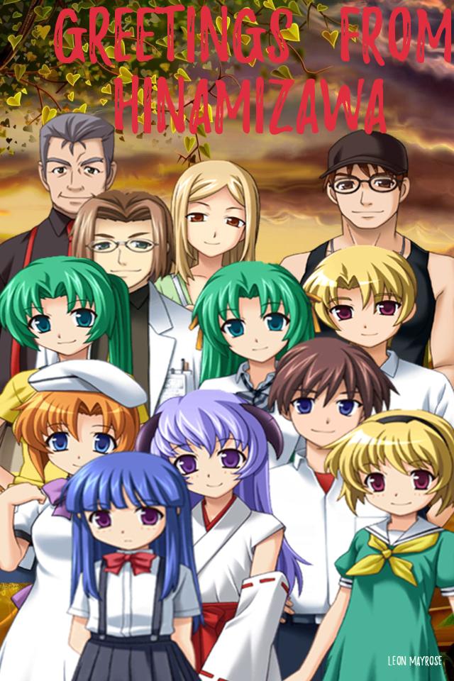 Higurashi: Greetings from Hinamizawa! by AnneMonique
