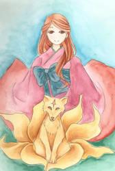kitsune by GlowingBugs