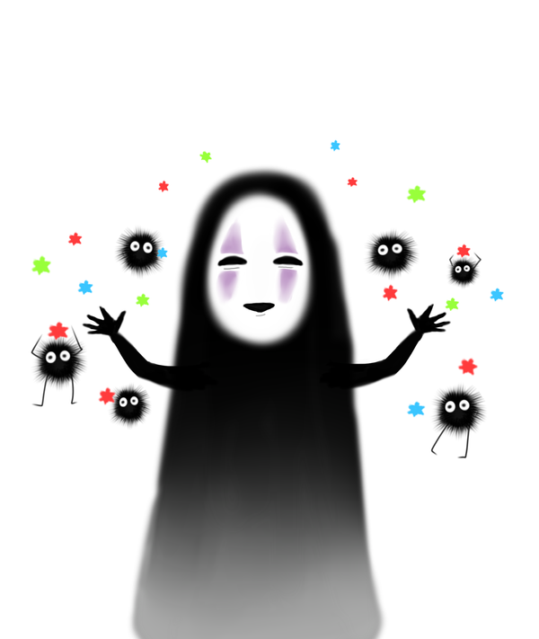 no face spirited away by kcy4r7 on deviantart