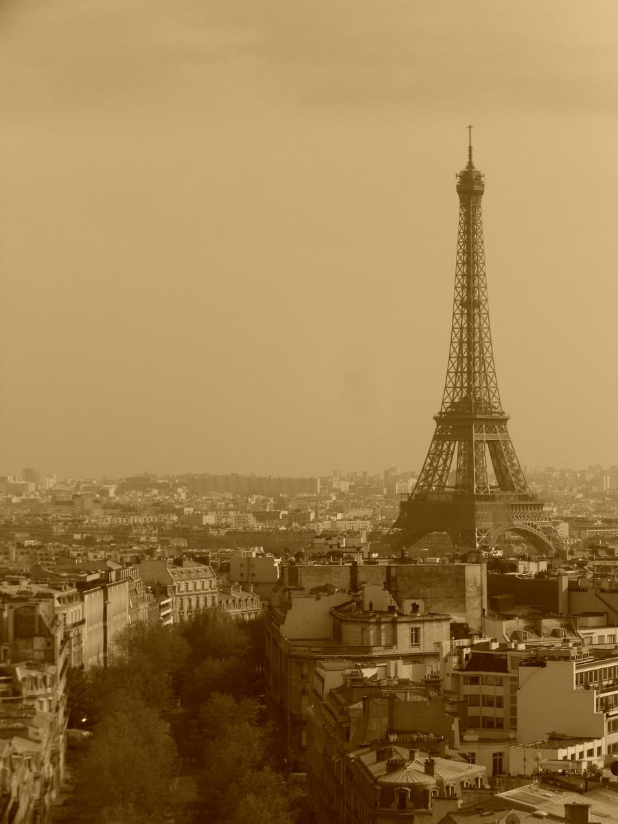 Paris In Sepia By Gracky On Deviantart