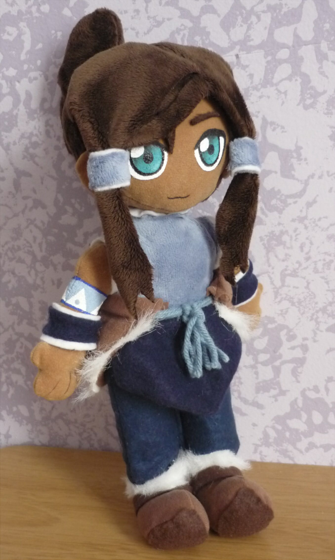 Legend Of Korra Toys : Korra plush by nikicus on deviantart