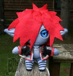 New Monster Sora Plush by Nikicus