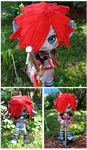 Posable Monster Sora Plush by Nikicus