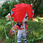 Posable Monster Sora Plush 2 by Nikicus