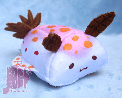 Mini Sea Slug Chum (Ceratosoma Amoenum) Plush