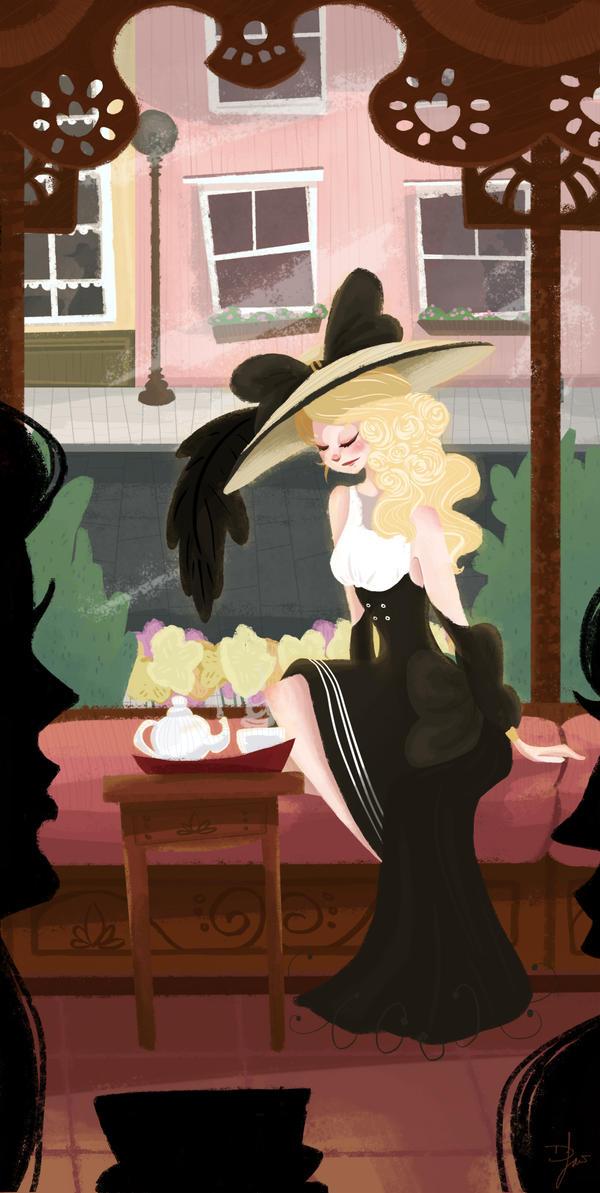 Tea Shop by suribee